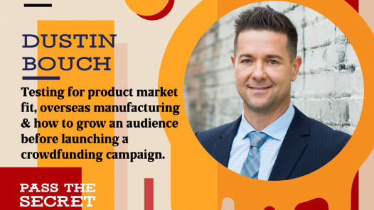 Image of How to grow an audience before launching a crowdfunding campaign with Dustin Bouch