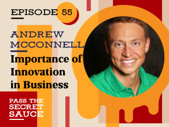 Importance of Innovation in Business with Andrew McConnell