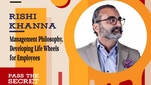 Management Philosophy, Developing Life Wheels for Employees ━ with Rishi Khanna