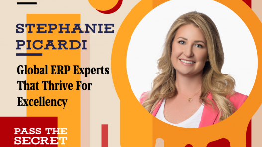 Global ERP Experts That Thrive For Excellency with Stephanie Picardi
